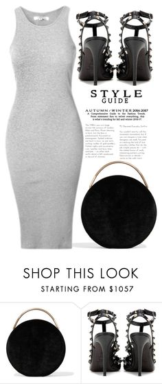 """""""BACK TO BASICS"""" by tamarasimic ❤ liked on Polyvore featuring Eddie Borgo, Valentino, gold, black and details"""