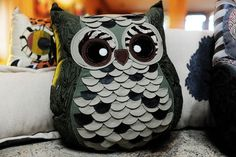 Owl pillows!