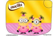 Creminho Nucita Minions para Meninas