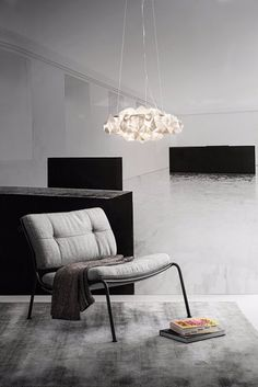 """Just an awesome space with the lamp """"Drusa"""" by Adriano Rachele :)"""