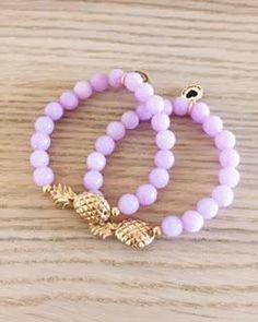 Pineapple Beaded Bracelet