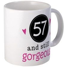 Birthday Gorgeous 11 oz Ceramic Mug Birthday Gorgeous Mug by HomewiseShopper - CafePress 31st Birthday, Husband Birthday, Mug Designs, Ceramics, Mugs, Tableware, Ceramica, Dinnerware, Tumbler