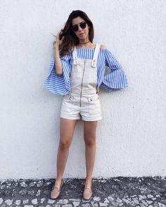 """22.9 mil curtidas, 173 comentários - Camila Coutinho (@camilacoutinho) no Instagram: """"Sunday dresscode ✌Tipo de look que adoro usar no domingo! Obrigada pelo macaquito @damyller, amo…"""""""