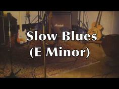 Slow Blues Guitar Backing Track (Am) - YouTube