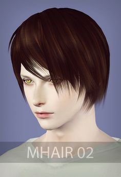 Narusia hairstyle 02 and 04 converted from Sims 2 to Sims 3 for Sims 3 - Sims Hairs - http://simshairs.com/narusia-hairstyle-02-04-converted-sims-2-sims-3/