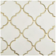 Merola Tile Essence Lantern Ivory Bone 10-1/2 in. x 10-1/2 in. x 9 mm Porcelain Mosaic Tile-FSDELTIV - The Home Depot