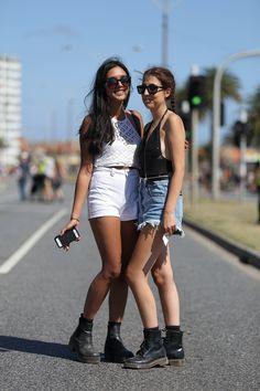 melbourne street fashion-st kilda festival!  festival fashion!!!  http://instagram.com/jaylim1