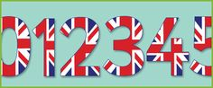 Union Jack Display Numbers | Free Early Years & Primary Teaching ...