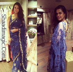 Looking for simple, sober saree? Try this beautiful saree worn by actress Esha Gupta