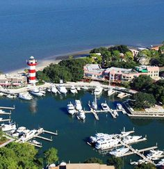 Harbour Town (Home of the MASTERS), Hilton Head Island, South Carolina