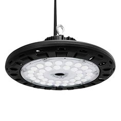 400W Equival. Warehouse Industrial Lights LED 2FT High Bay Light Fixture 120W
