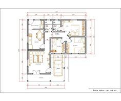 Decoração e Projetos   – Plantas de casas em formato de L