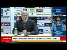 Rinnovo contrattuale di Edinson Cavani col Napoli fino al 2017, 31 agosto 2012.