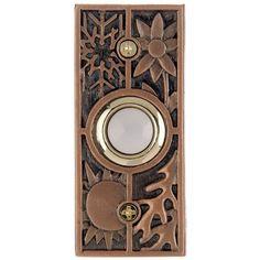 "3.5"" Antique Style Solid Brass Escutcheon 1608P//C"
