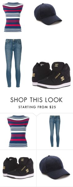 """""""Cory in the House Outfit"""" by indigofudge on Polyvore featuring Dolce&Gabbana, Frame Denim, DC Shoes and Keds"""