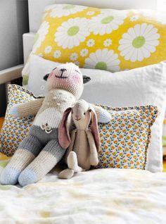 Kids room - 70's bedding - Via Casa del Caso