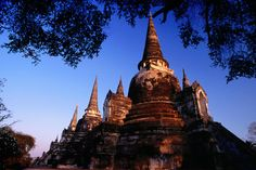 Stupa of Wat Phra Si Sampeth, Thailand.