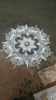 Indian Rangoli Designs, Rangoli Designs Latest, Latest Rangoli, Rangoli Designs Flower, Rangoli Patterns, Rangoli Ideas, Rangoli Designs With Dots, Beautiful Rangoli Designs, Henna Patterns