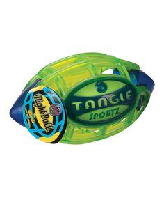 Look at this #zulilyfind! Night-Light Football Toy by Toysmith #zulilyfinds