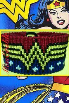 Photo by Added by MissErable Friendship bracelet pattern 8382
