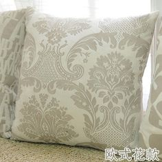 On sale Classic European style Flower home bedroom hotel Cushion Cover Pillow case for Sofa/Bedding/Couch/office/seat/car/C7140