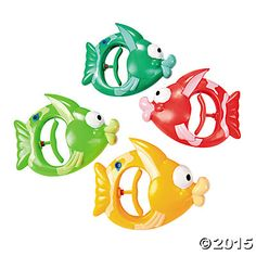Tropical Fish Water Guns - Oriental Trading