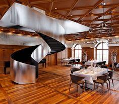Mammertsberg Gourmet Restaurant - MUNICH CHAIR by Sauerbruch Hutton for ClassiCon