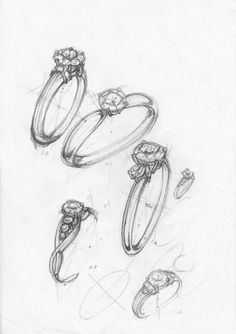 最近は3Dが注目されていますが、 やはり、ジュエリーのデザイン画を手描きで綺麗にかけたら素敵だと思いませんか? ! ジュエリーデザインを仕事としているデザイナーさんがお客様の目前で指輪のパ-ス画がしかもフリーハンドで描けたらカッコイイですよ...