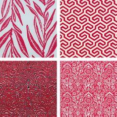 Red Upholstery Fabrics
