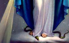 maria-esmaga-a-serpente El sorprendente día en que el propio diablo alabó la Inmaculada Concepción de María.