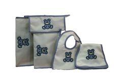 #maruzubiriadf #babyboy #baby #blue #babystuff #bag #laundry #bib #teddybear #customizeyourlife #mynameonit