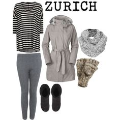 Travel Outfit ZURICH in WINTER