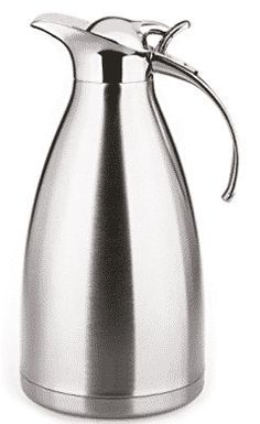 Hiware 68 OZ Stainless Steel Thermal Coffee Carafe - Double Walled Vacuum Insulated Carafe Look Good Feel Good, Carafe, Stainless Steel, Coffee, Top, Kaffee, Decanter, Cup Of Coffee, Coffee Art