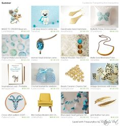 Summer by Tranquillina includes our butterfly pillow! http://etsy.me/1RmbDhW #butterfly #pillow #homedecor #turquoise