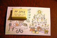 Vianočné pohľadnice a minidarčeky. / Christmas cards and small gifts.