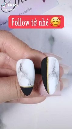 Nail Art Designs Videos, Nail Art Videos, Acrylic Nail Designs, Diy Acrylic Nails, Diy Nails, Swag Nails, Nail Art Hacks, Nail Art Diy, Easy Nail Art
