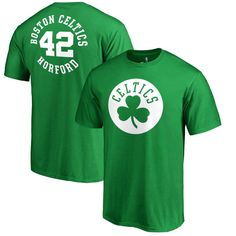 Al Horford Boston Celtics Fanatics Branded Round About Name & Number T-Shirt - Kelly Green