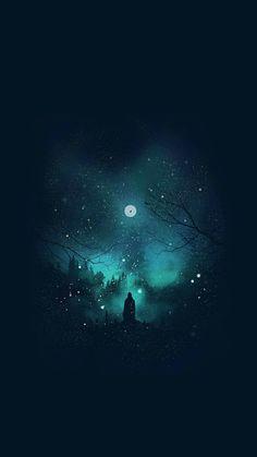 Night Sky Wallpaper, Dark Wallpaper Iphone, Wallpaper Space, Homescreen Wallpaper, Galaxy Wallpaper, Wallpaper Backgrounds, Fantasy Images, Dark Fantasy Art, Fantasy Artwork