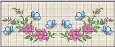 This Pin was discovered by Saa Cross Stitch Numbers, Cross Stitch Letters, Cross Stitch Boards, Cute Cross Stitch, Cross Stitch Rose, Cross Stitch Flowers, Cross Stitch Designs, Stitch Patterns, Cross Stitching