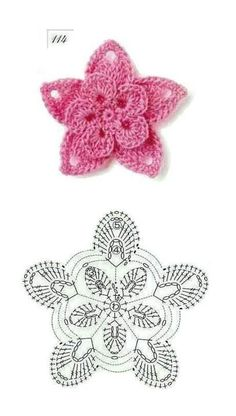 ❋ Crochet Flowers.. Designs, ideas, how to's and just great pictures. crochet flower