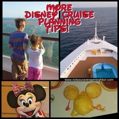 More Things to Know About Your Disney Cruise!