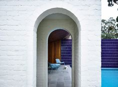Arched doorways, sculptural chimneys and a pyramid roof are among the quirky details that Kennedy Nolan has used to add character to this Melbourne house Residential Architecture, Contemporary Architecture, Interior Architecture, Interior Design, Kennedy Nolan, Arch Doorway, Melbourne House, Arts And Crafts House, Ground Floor Plan