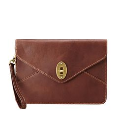 Simple and Lovely!! Fossil Clutch Bag - ZB5584206