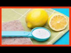 ESTO NO ES UNA BROMA la mitad de un limon mojado en bicarbonato de sodio. Es Increible - YouTube