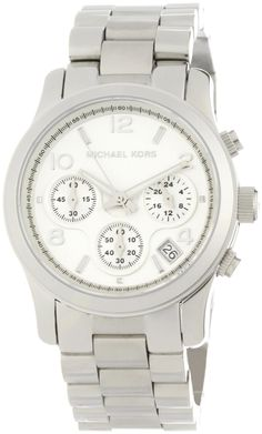 Michael Kors Watches Silver Chronograph Runway  List Price:$225.00 - Price:$139.74