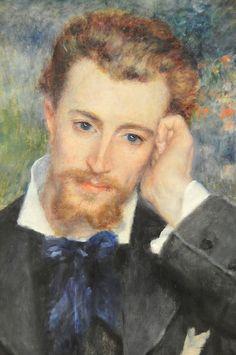 Pierre Auguste Renoir - Eugène Murer (Hyacinthe-Eugène Meunier) at New York Metropolitan Art Museum   Flickr - Photo Sharing!