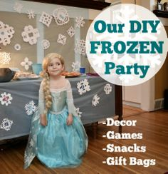 Beth Being Crafty: The DIY Frozen Birthday Party