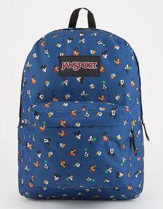88a3df4e1f92 JANSPORT x DISNEY Disney Gang Dot SuperBreak Backpack - NAVCO - JS0A3BB3-38L