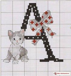monograma-de-gatos-A.jpg (694×740)