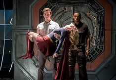 David Harewood, Melissa Benoist, and Chris Wood in The Flash (2014)